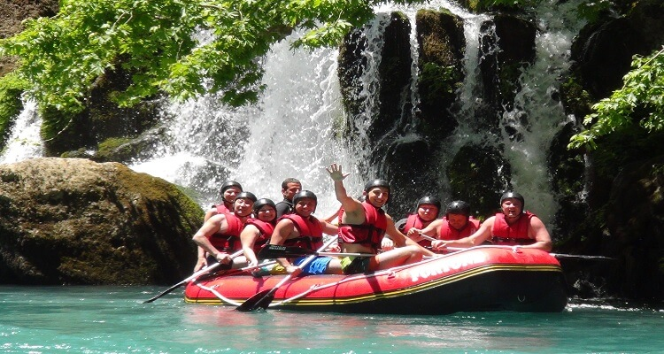 Rafting Ausflug in Costa Rica