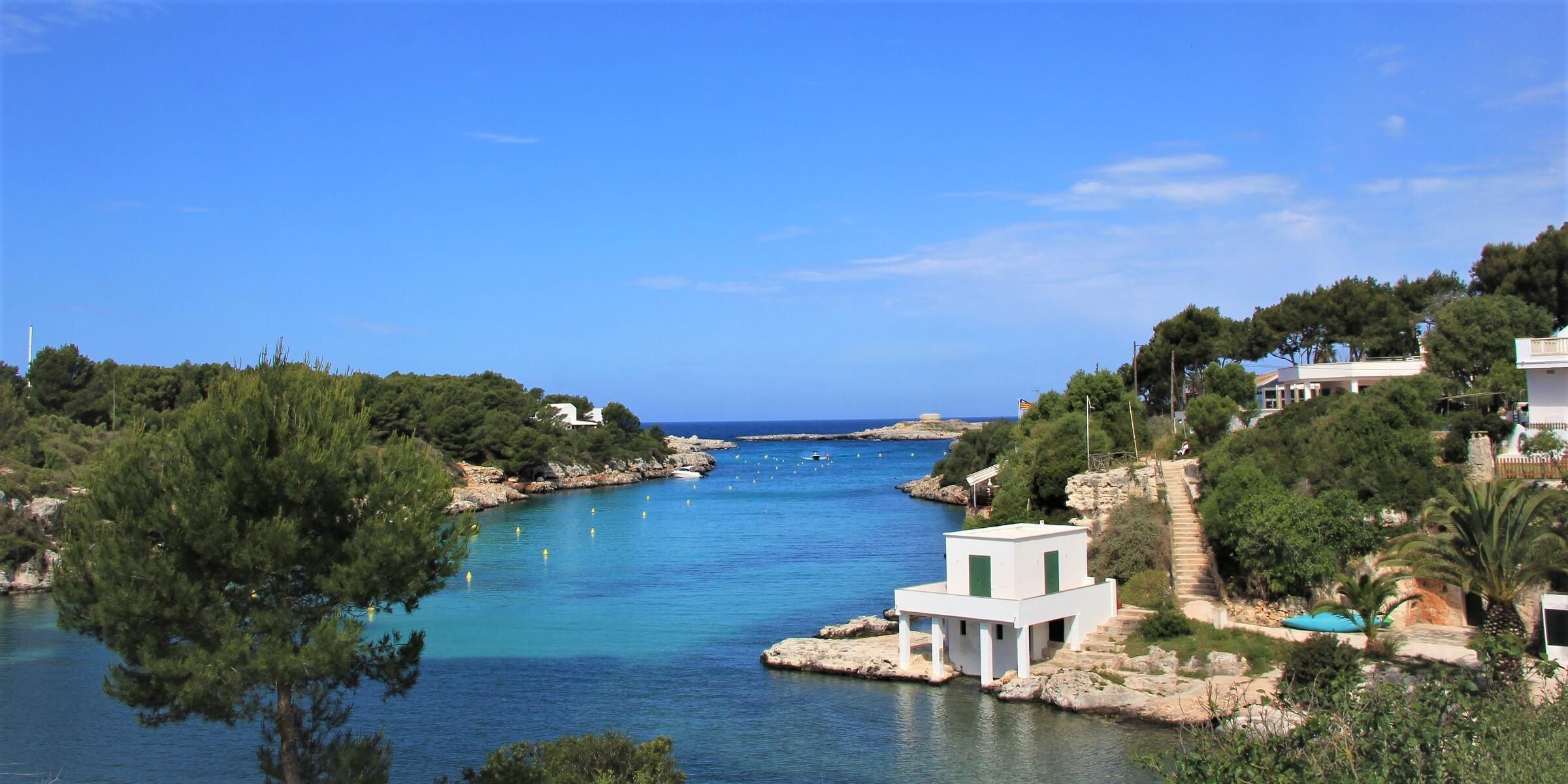 Idyllische Bucht auf Menorca
