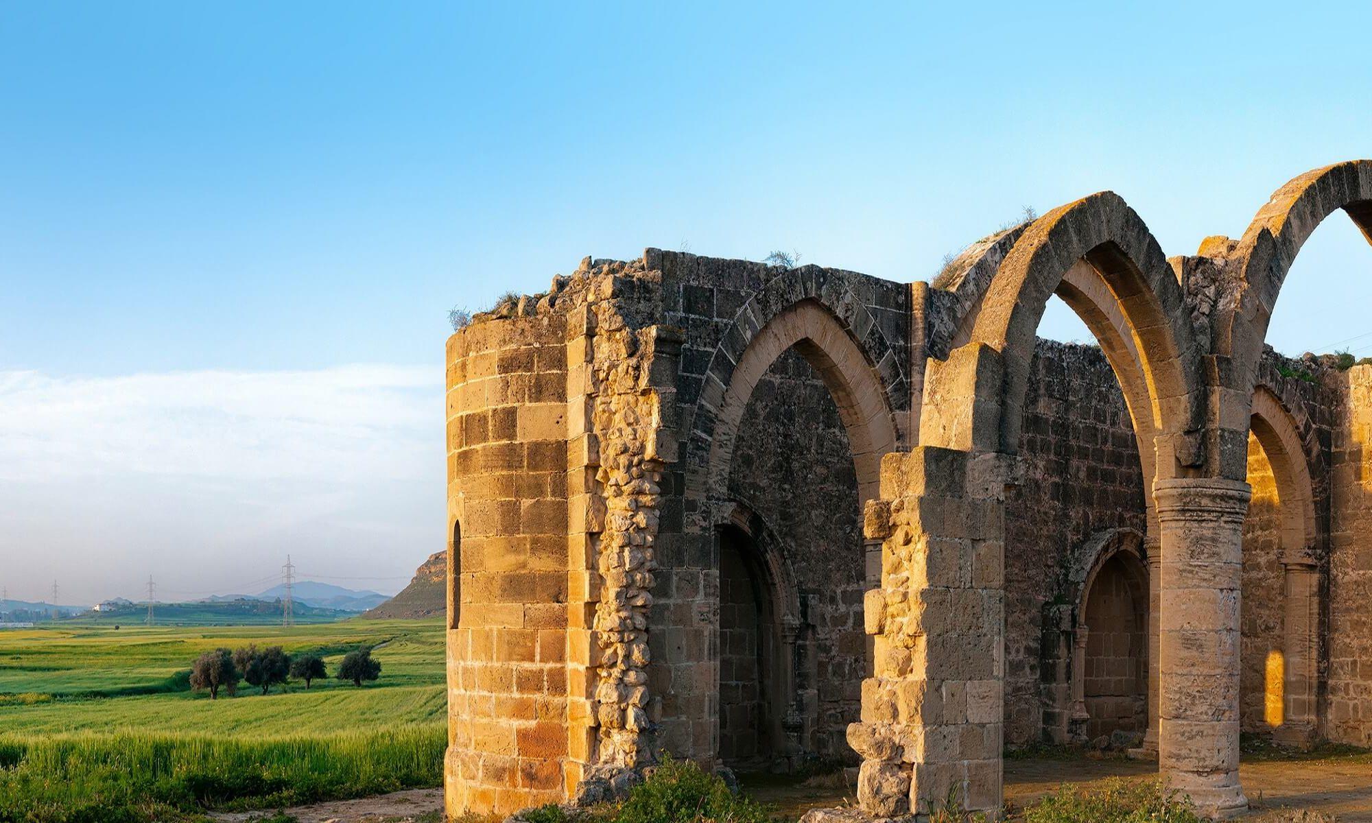 Antike Ruinen auf Zypern