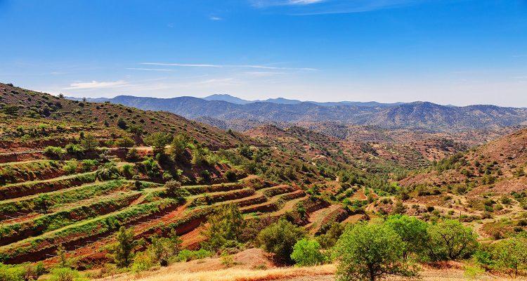 Zyperns Hinterland