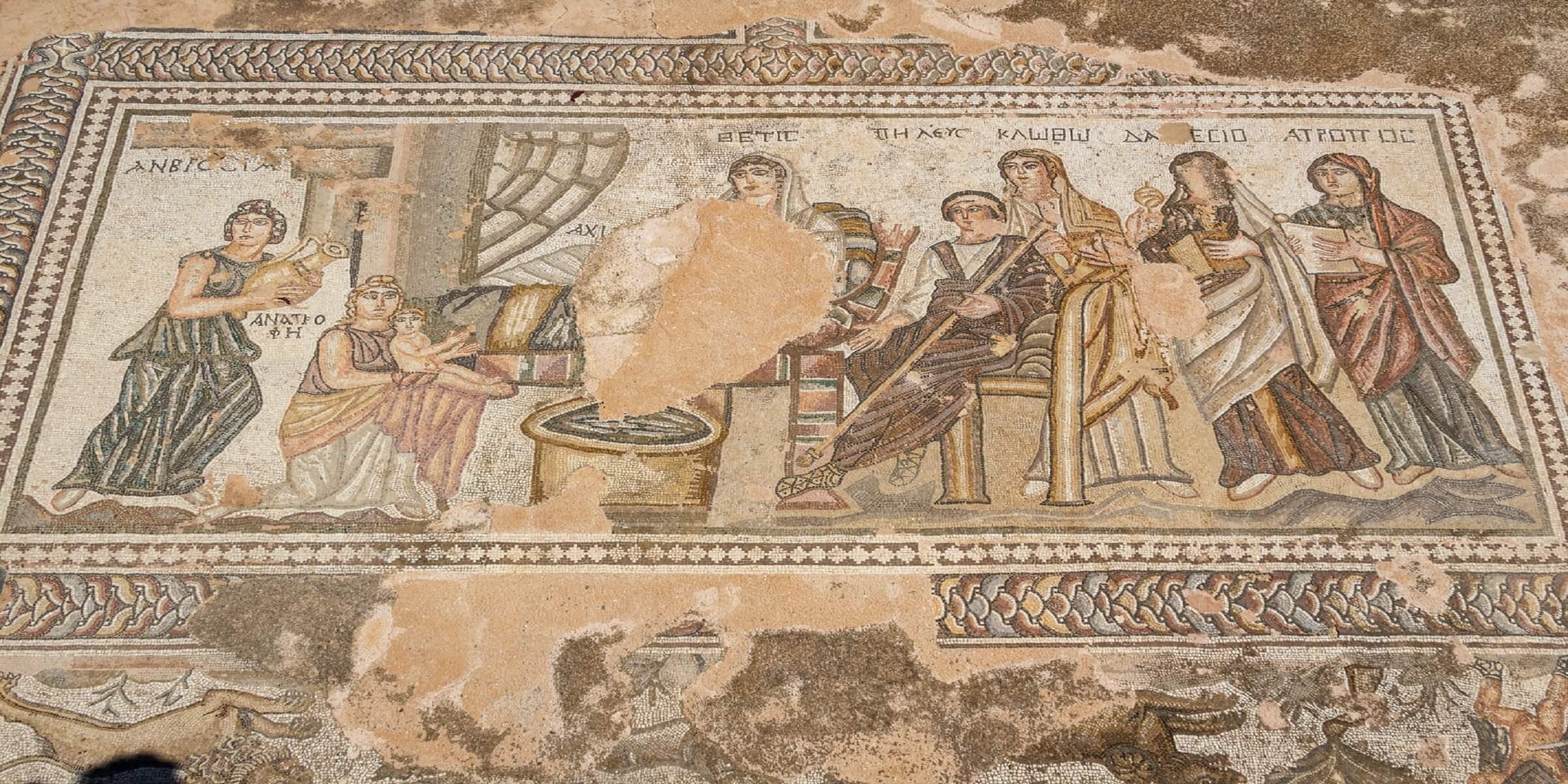 Die weltberühmten Mosaiken von Paphos