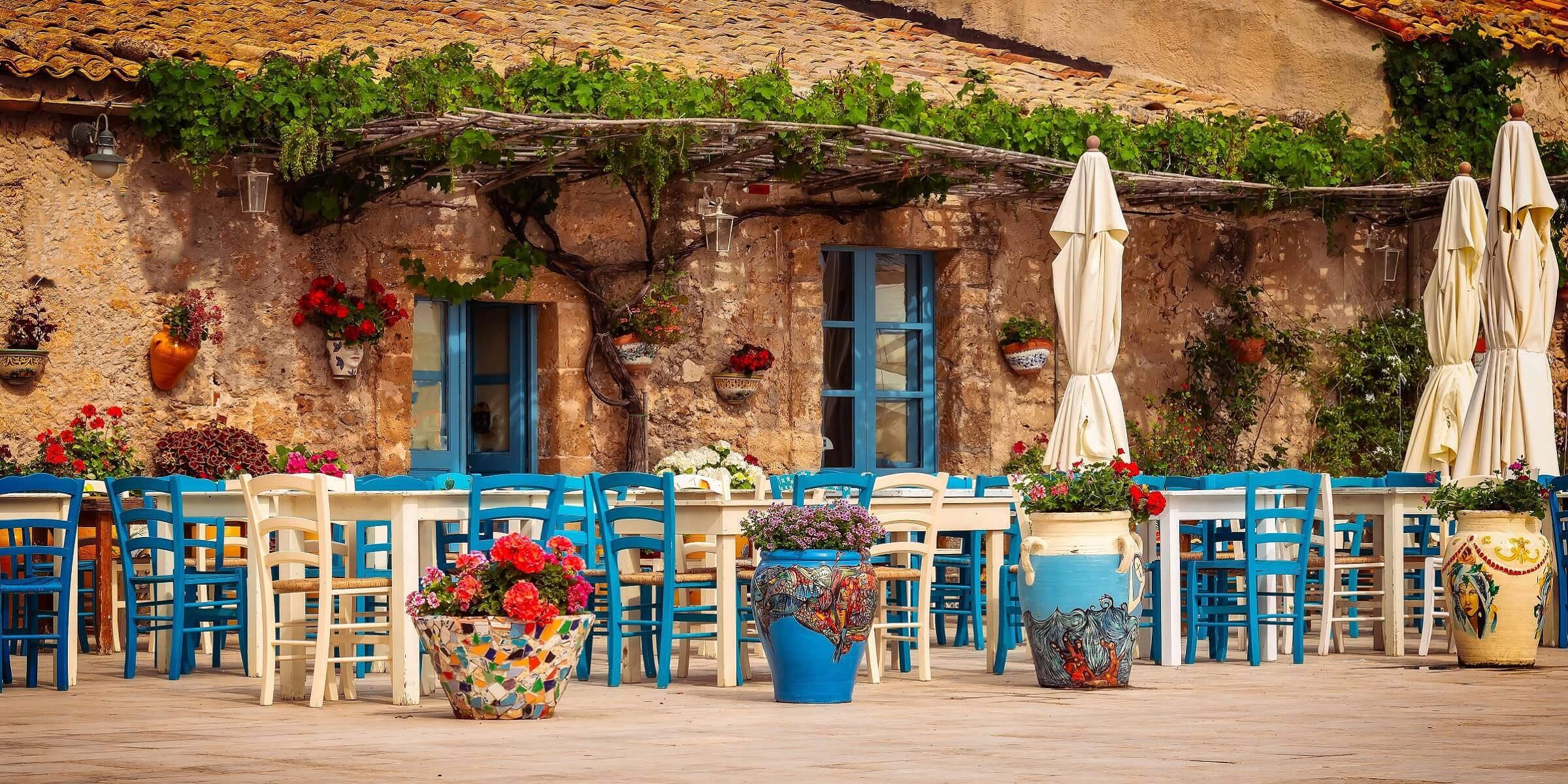 Taverne auf Zypern