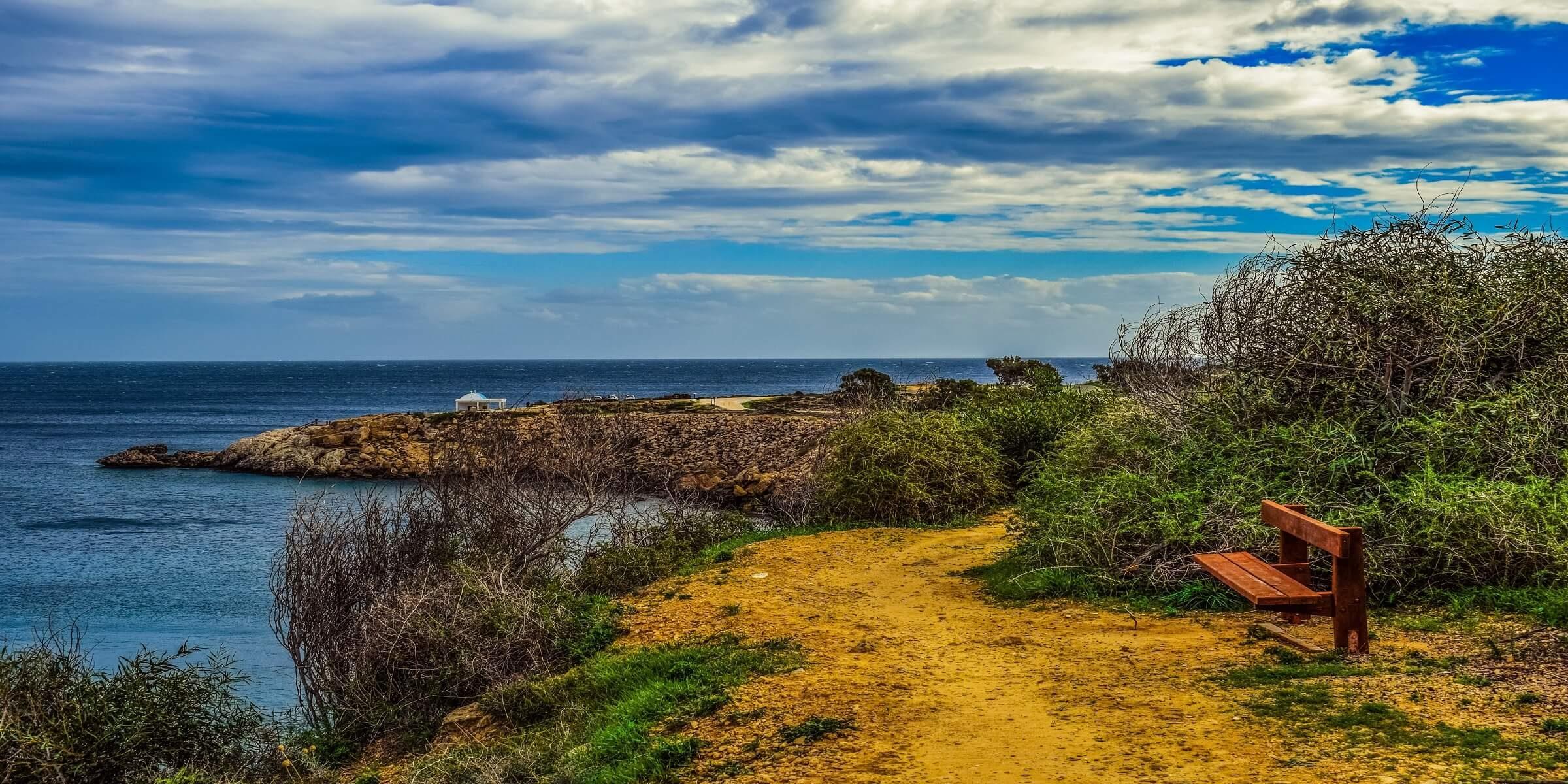Küste auf Zypern