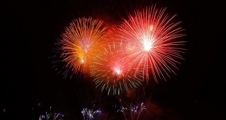 Feuerwerk auf den Kanaren