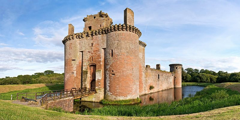 Reisetipps Schottland: Caerlaverock Castle