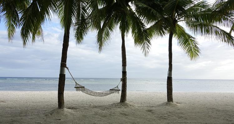 Hängematte am Strand von Panama