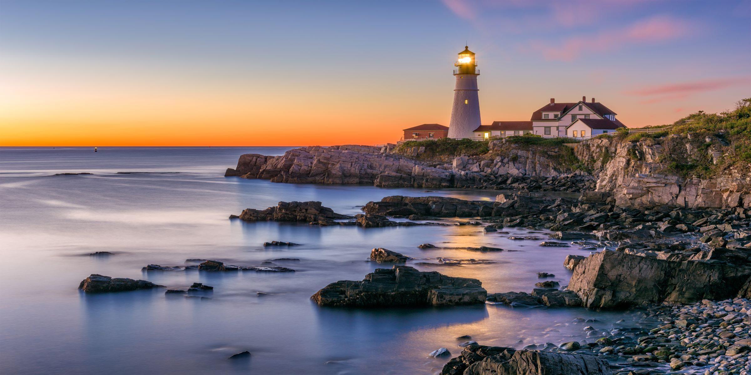 portland leuchtturm auf einer gruppenreise fuer singles