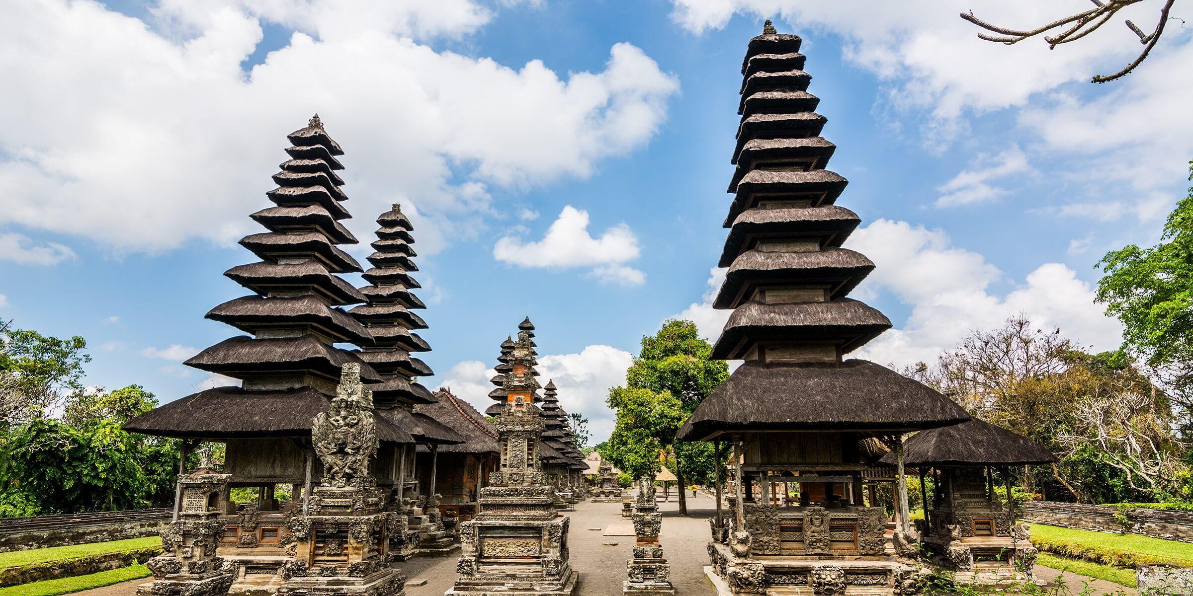 Tempel auf Bali bei einer Reise mit adamare SingleReisen