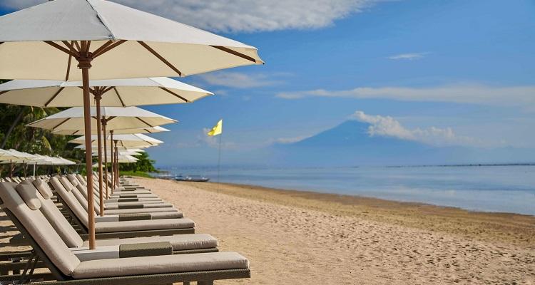 Der Strand im Hyatt Regency Bali