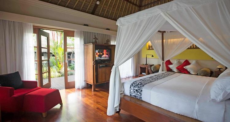 Die Zimmer im Maya Ubud Resort & Spa