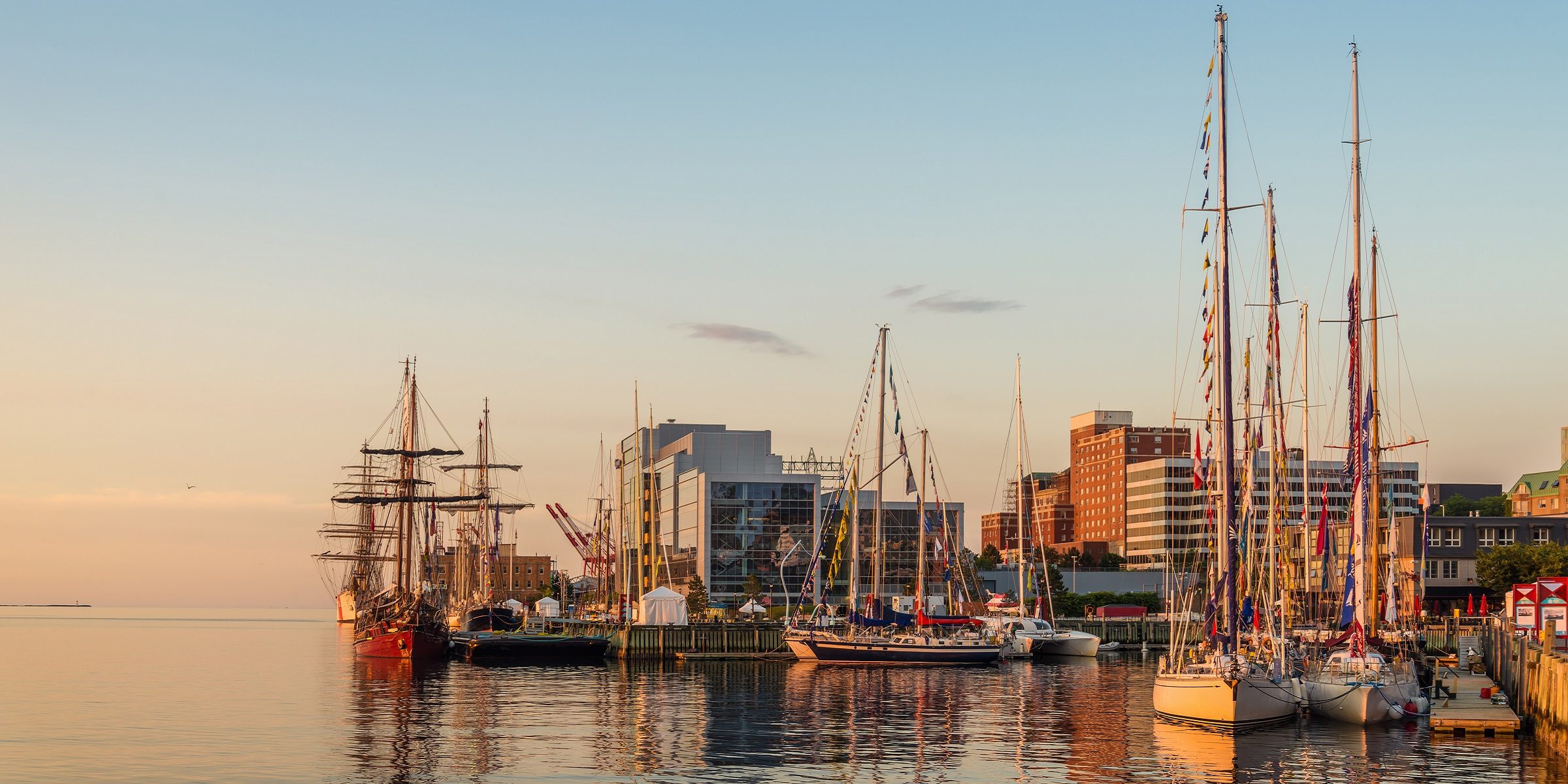 Der Hafen in Halifax