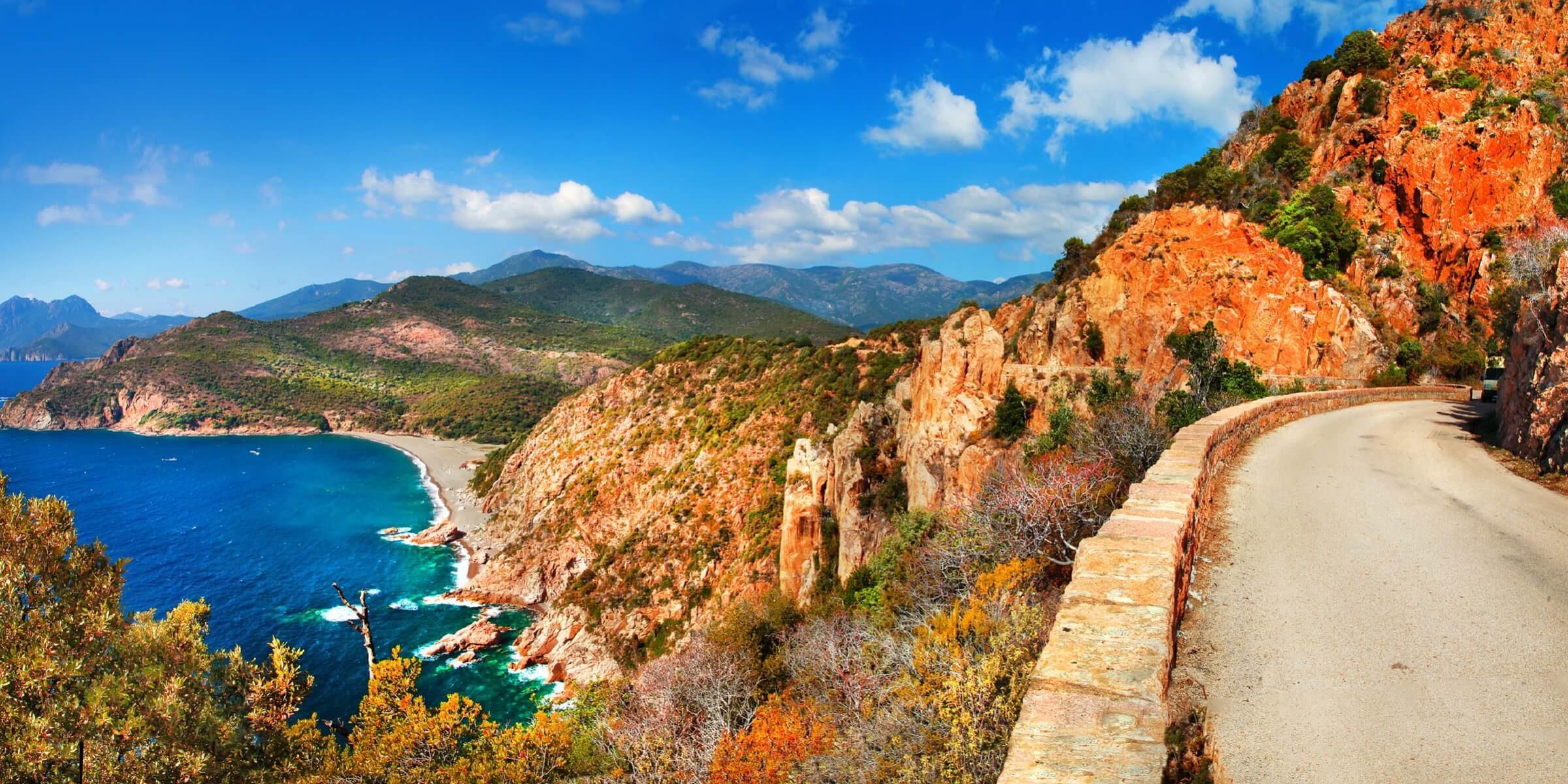 Beeindruckende Landschaften finden Sie auf Korsika