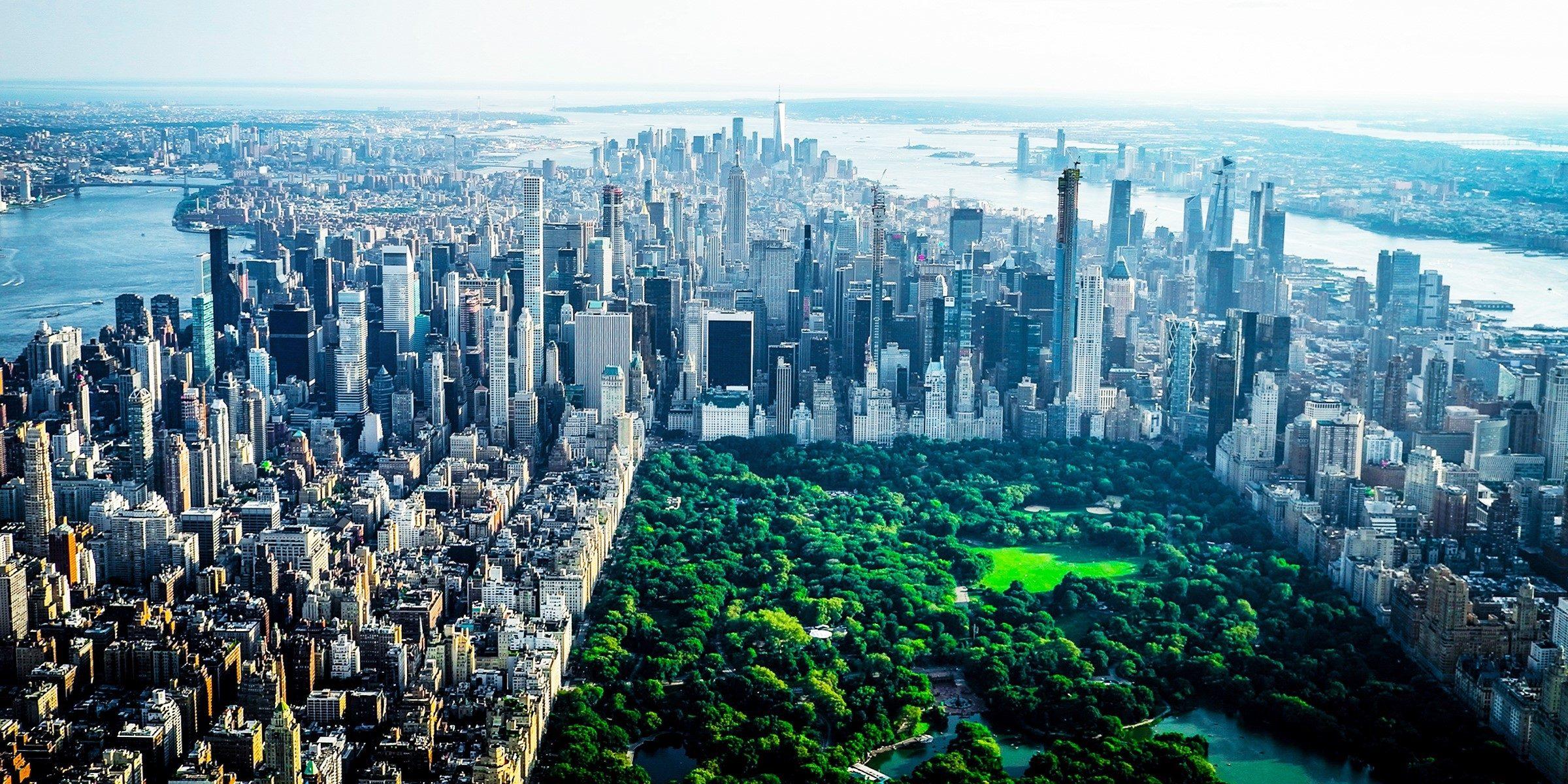 Der Central Park von oben