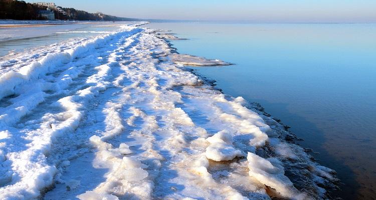 Wintermorgen in Riga