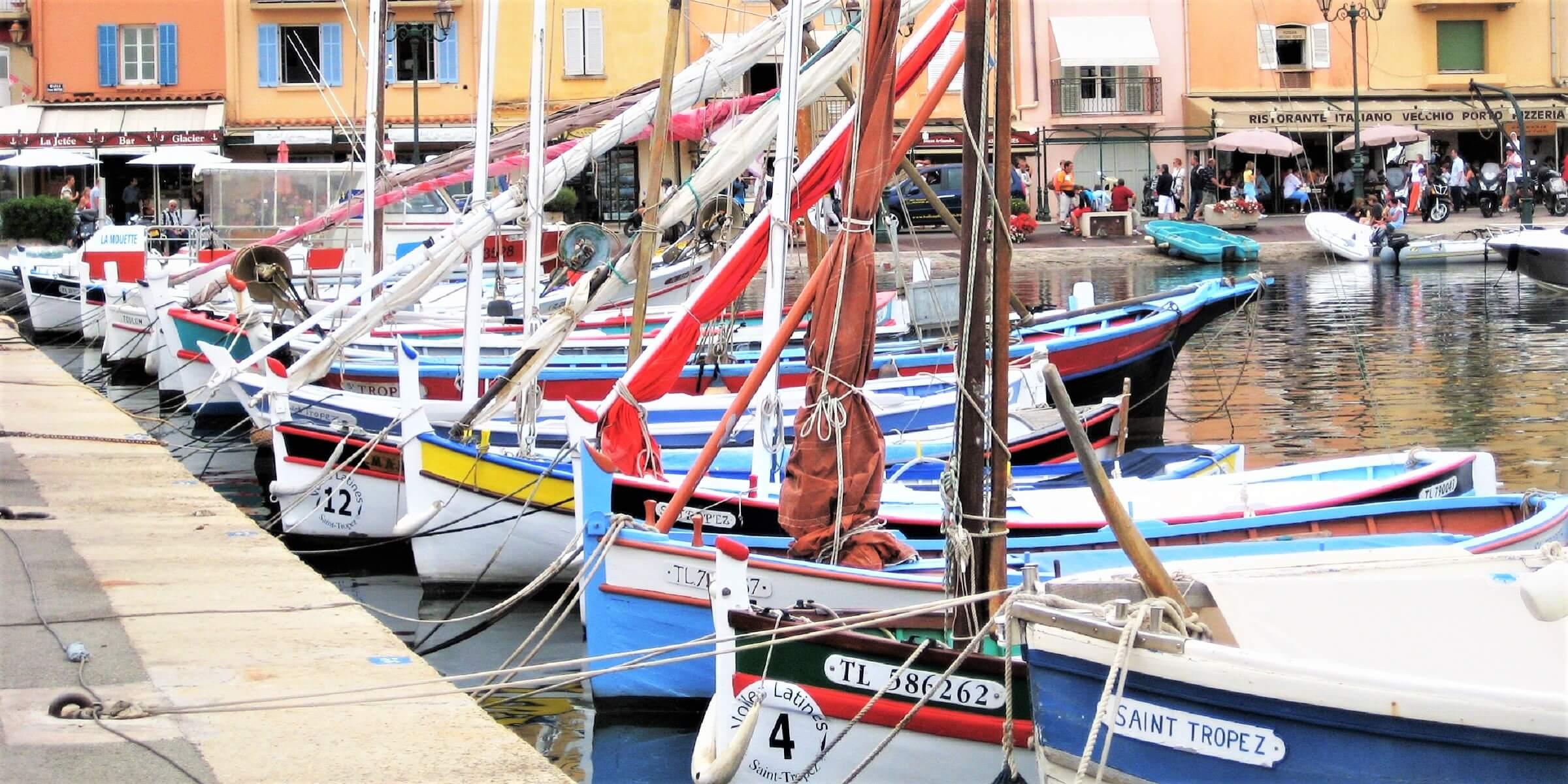 Die Hafenstadt St. Tropez