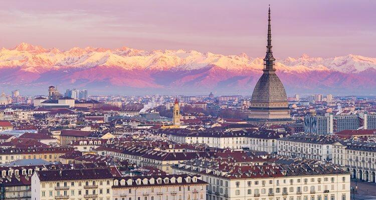 Die schöne Stadt Turin bei einer Reise mit adamare SingleReisen