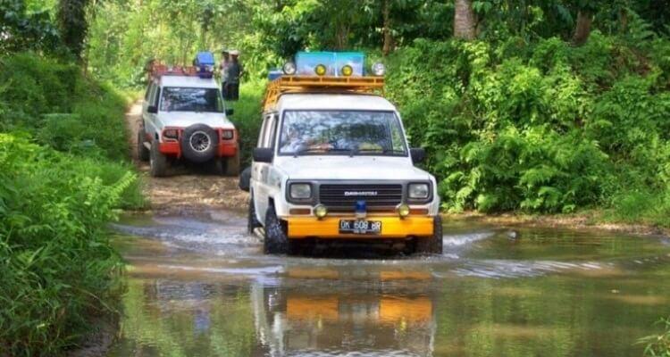 Jeep Tour auf Bali