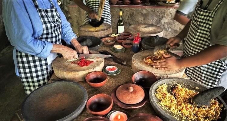 Ein balinesischer Kochkurs auf Bali steht auch auf unserem Programm