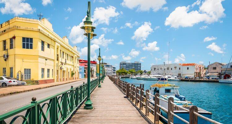 Bridgetown auf Barbados