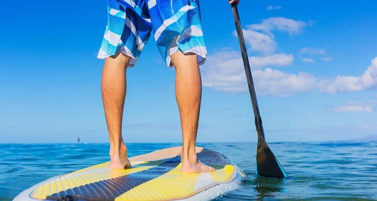 Probieren Sie doch einmal Stand Up Paddling auf Barbados aus!