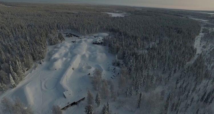 snowvillage besuch mit adamare singlereisen in lappland