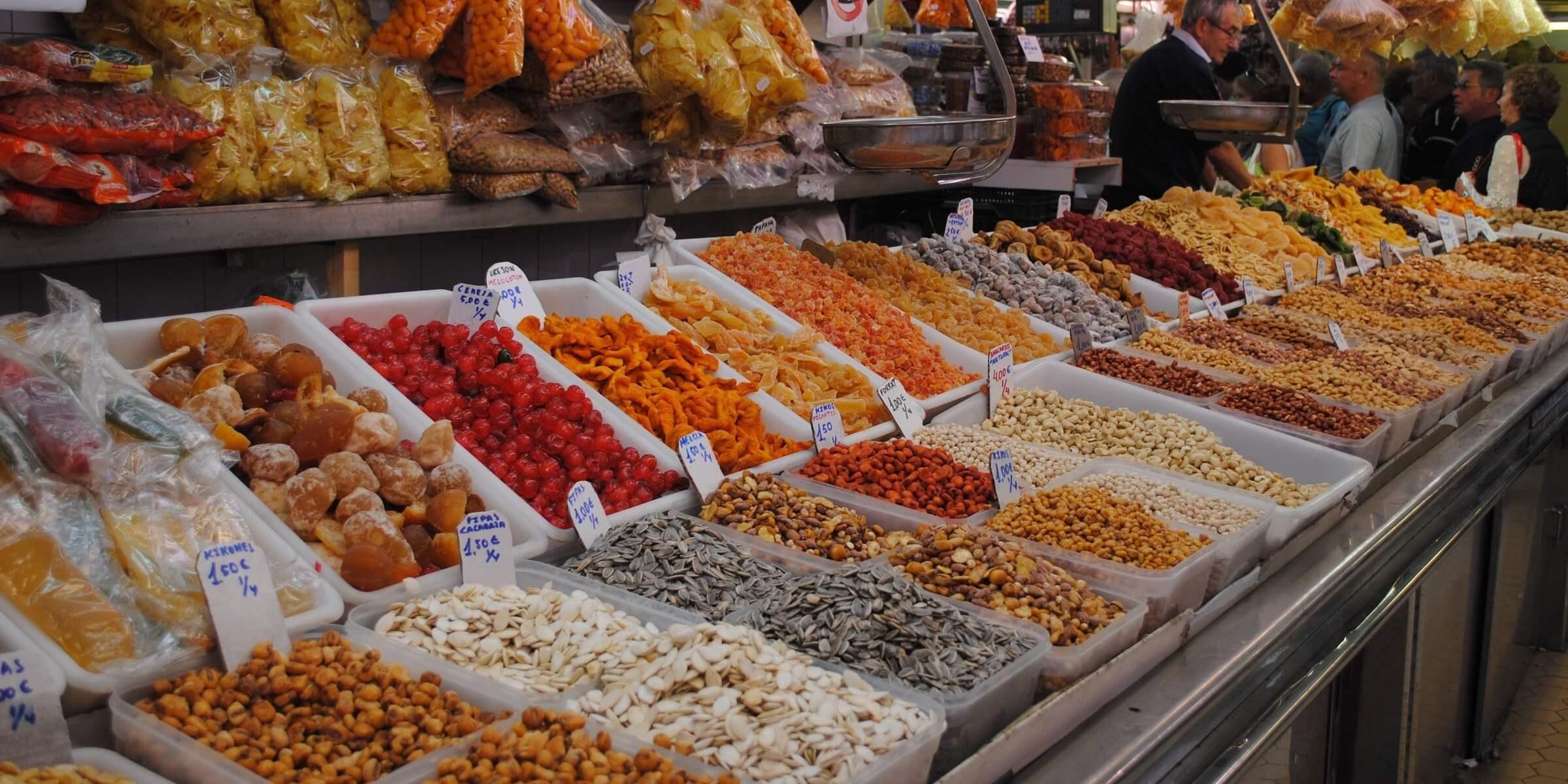 Markt in Valencia