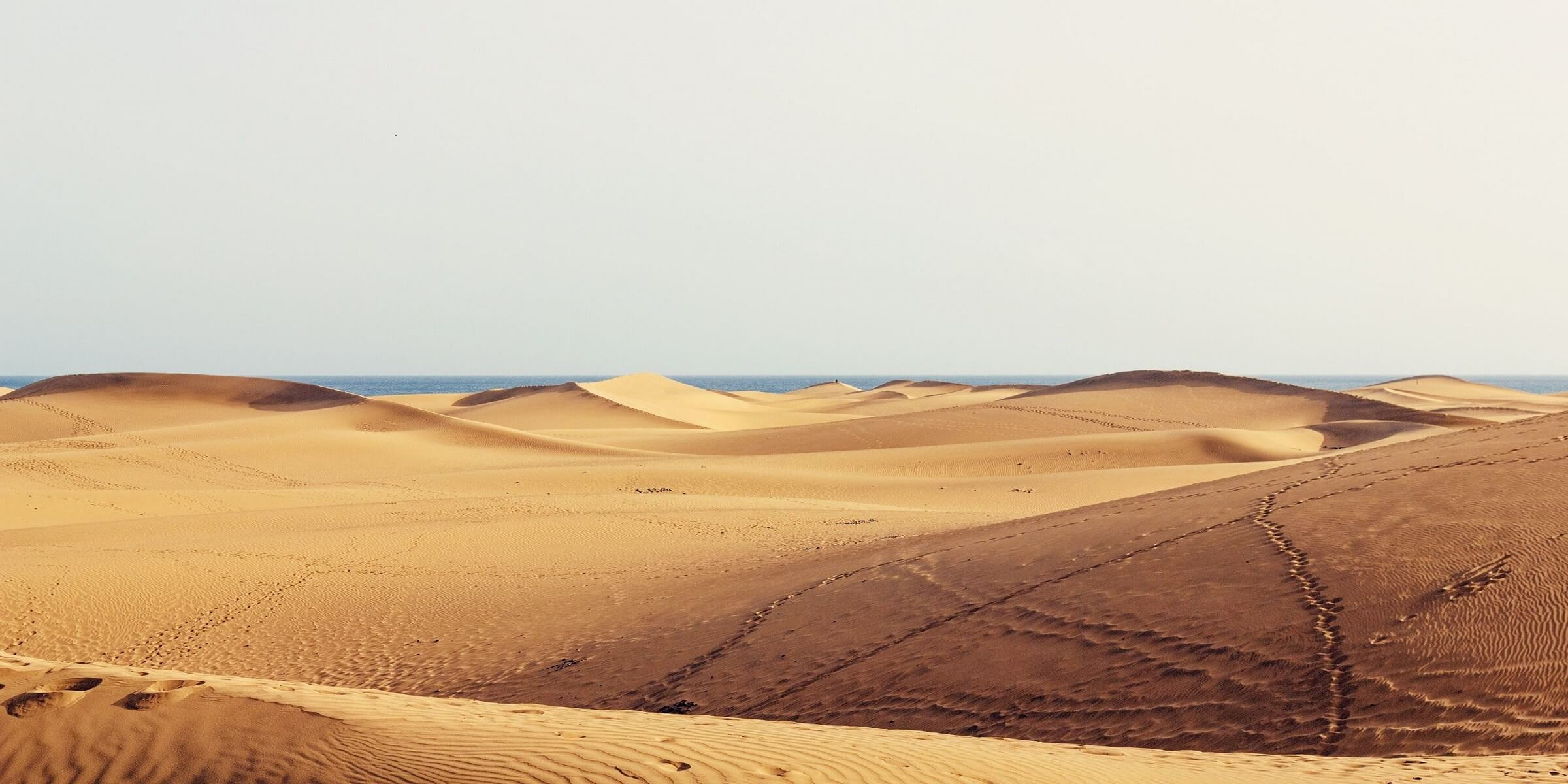 Wüste auf Gran Canaria