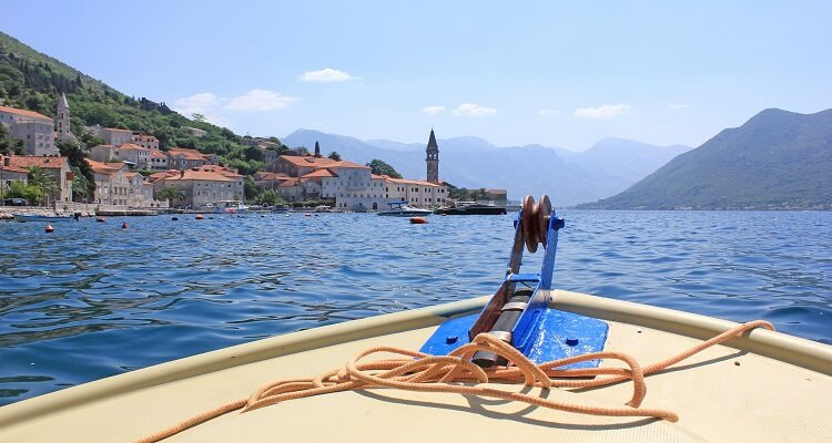 Bootsausflug Bucht Kotor