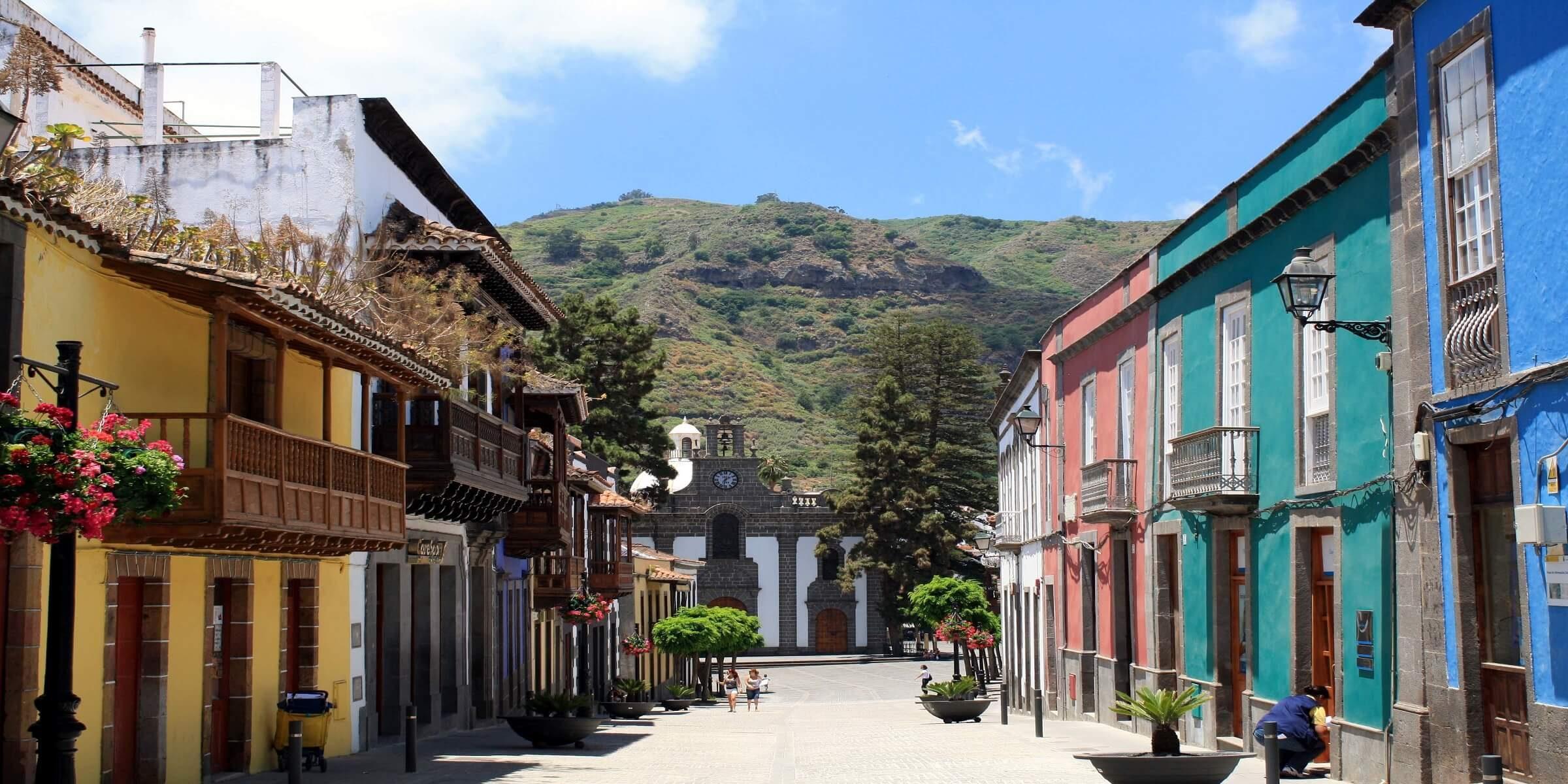 Stadt Teror auf Gran Canaria
