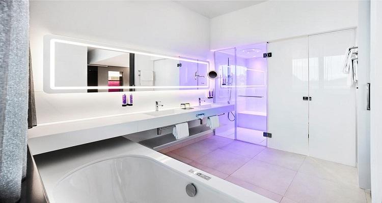 Badezimmer Jaz Hotel