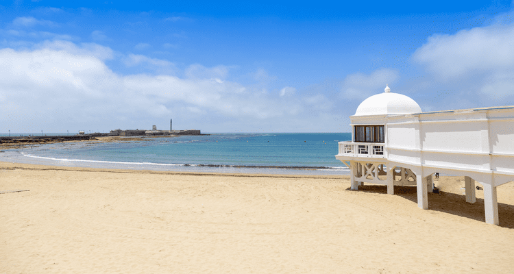 Singlereise nach Andalusien - Strand La Caleta