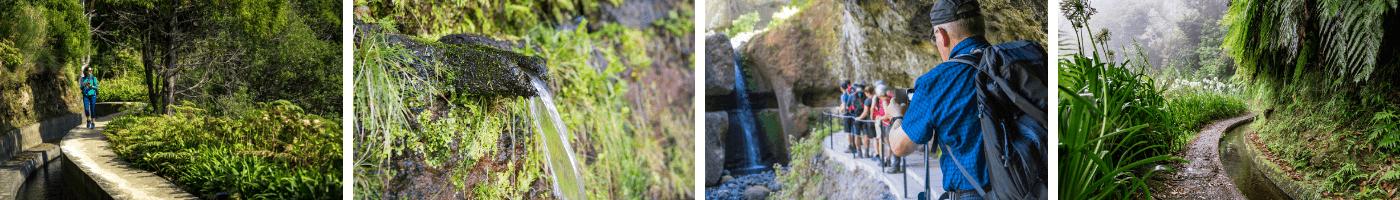 Das Bewässerungssystem Madeiras sind die Levadas