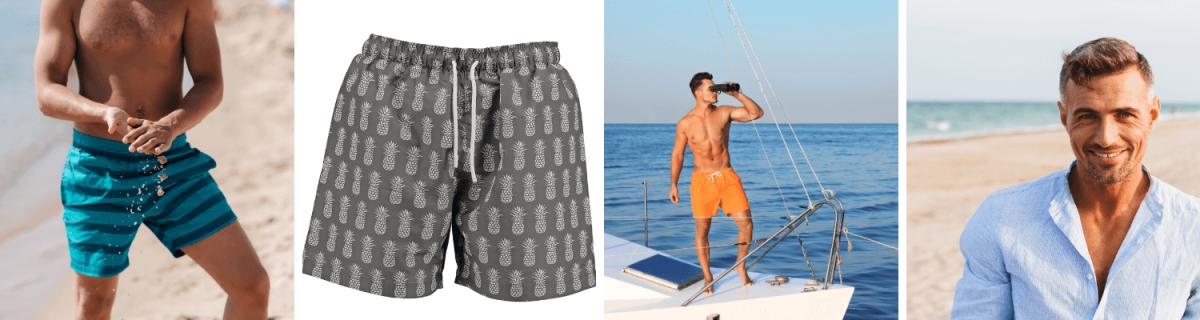 Was trägt man am Strand im Sommer 2020? Bademode Männer