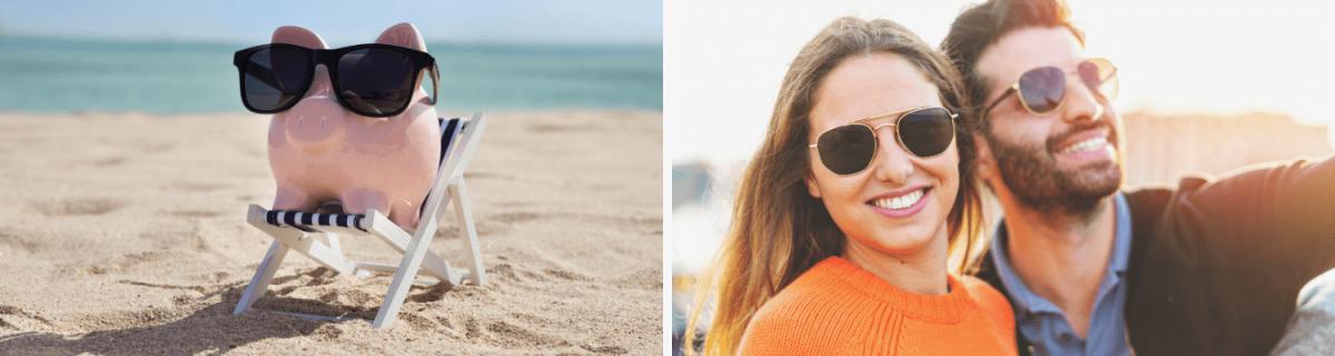Was trägt man am Strand im Sommer 2020? Die No-Gos: Billige Sonnenbrillen