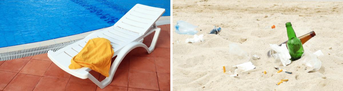 Was trägt man am Strand im Sommer 2020? Die No-Gos: Rücksichtsloses Verhalten