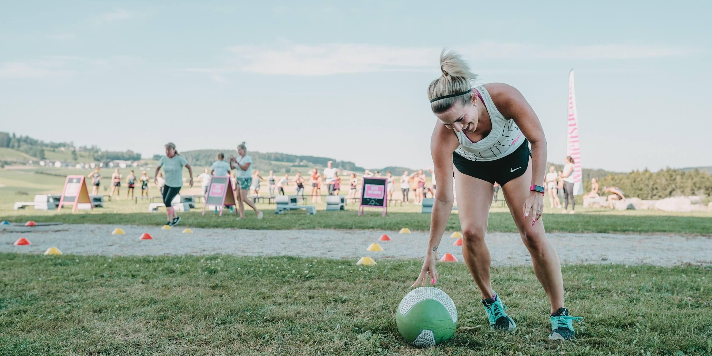 Women's Health Camp - Ball/Parcour