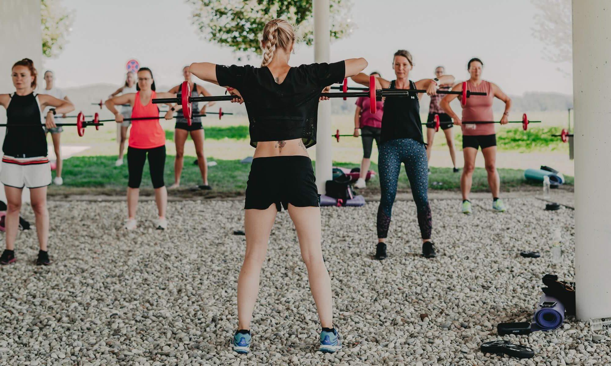 Women's Health Camp - Gewichte