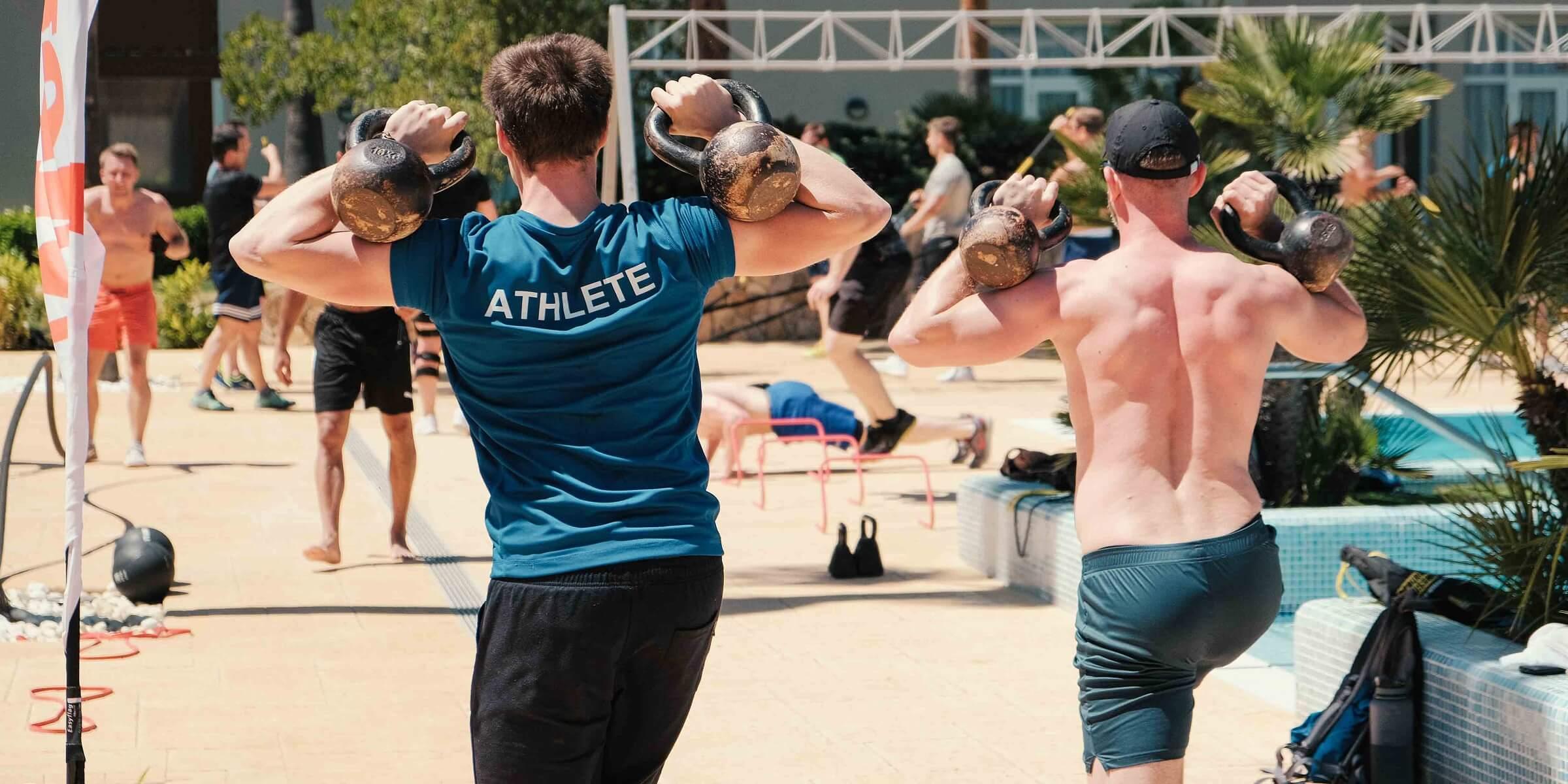 Men's Health Camp - Gewichte