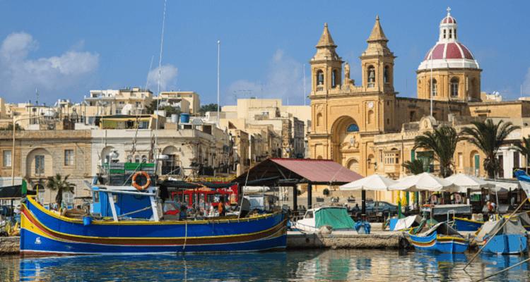 Adamare Singlereise auf Malta zu Silvester Ausflug Marsaxlokk