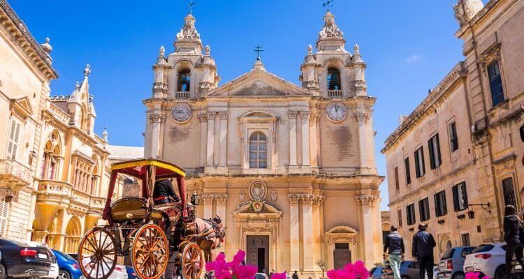 Adamare Singlereise auf Malta zu Silvester Besichtigung Mdina