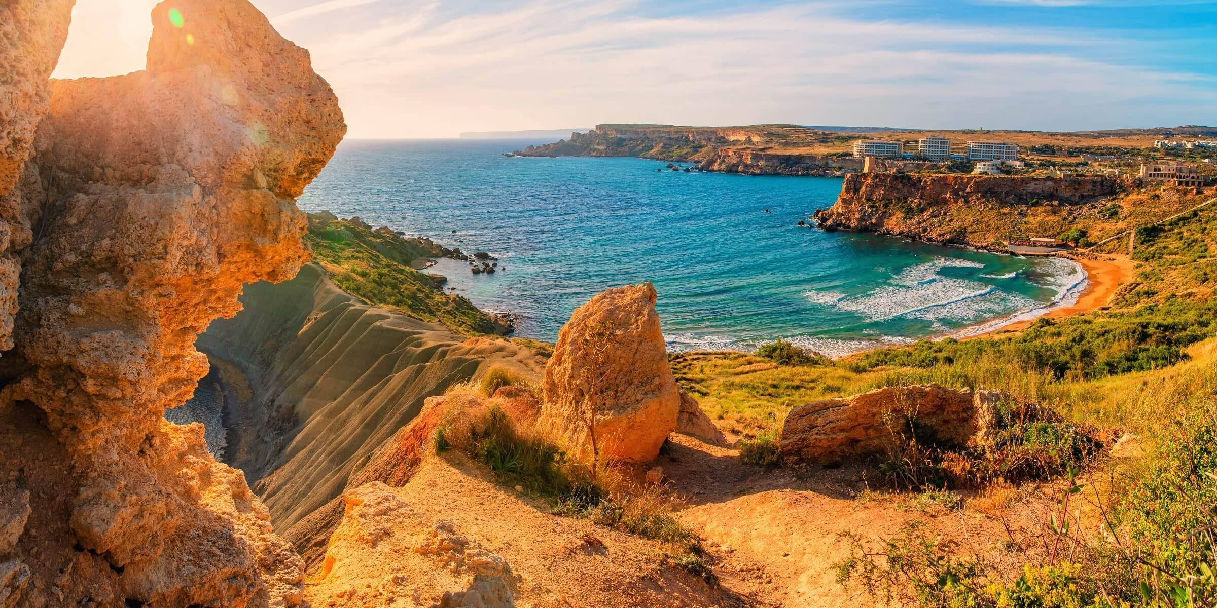 Auf Ihrer Singlereise nach Malta erwarten Sie traumhafte Strände