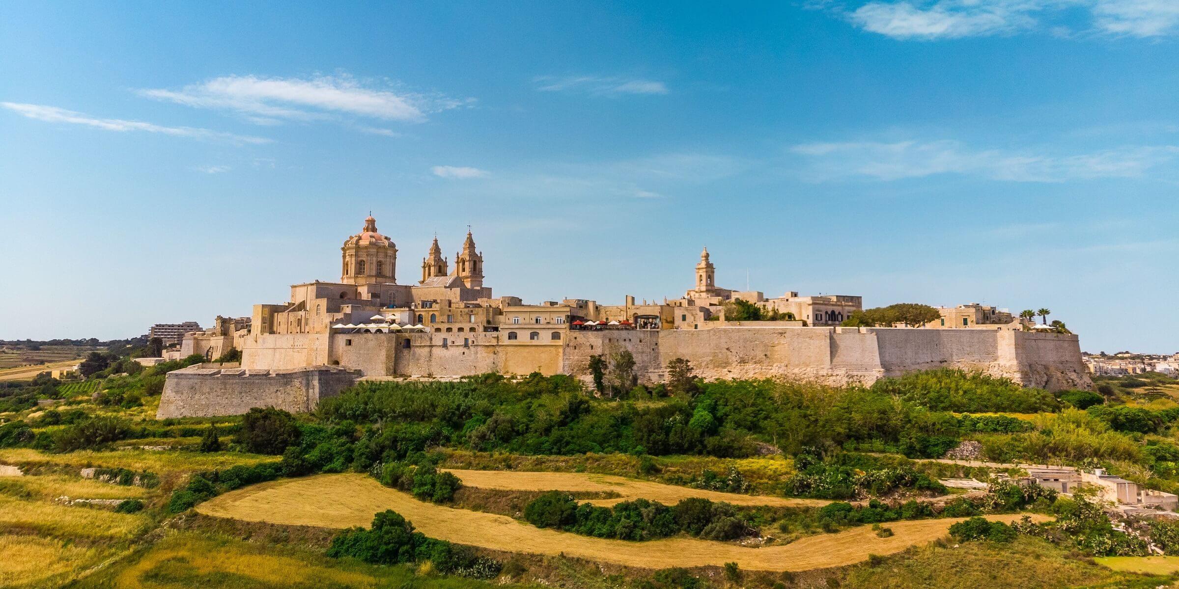 Auf Ihrer Singlereise nach Malta entdecken Sie das mittelalterliche Dorf Mdina