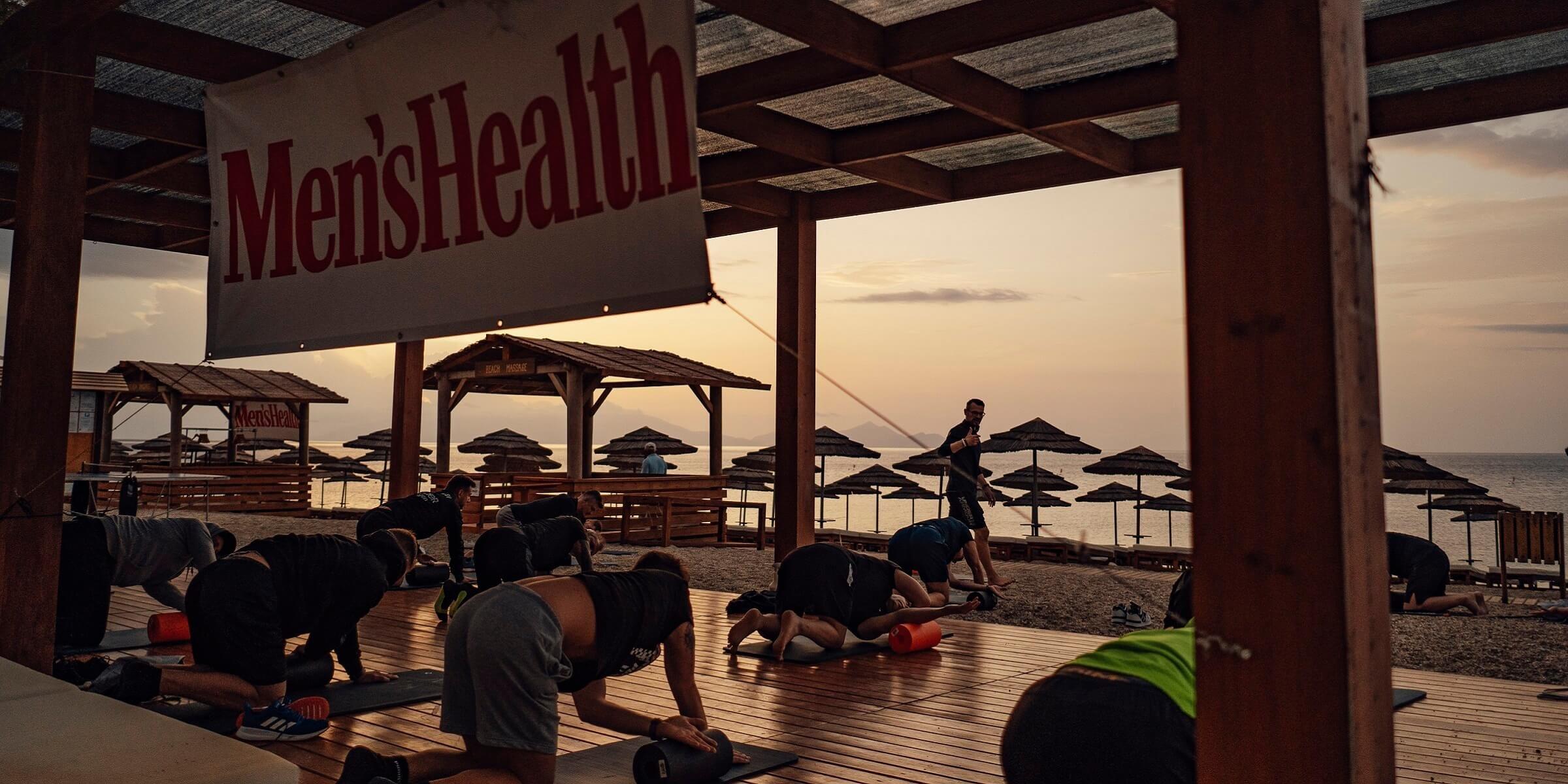 Men's Health Camp - Faszientraining