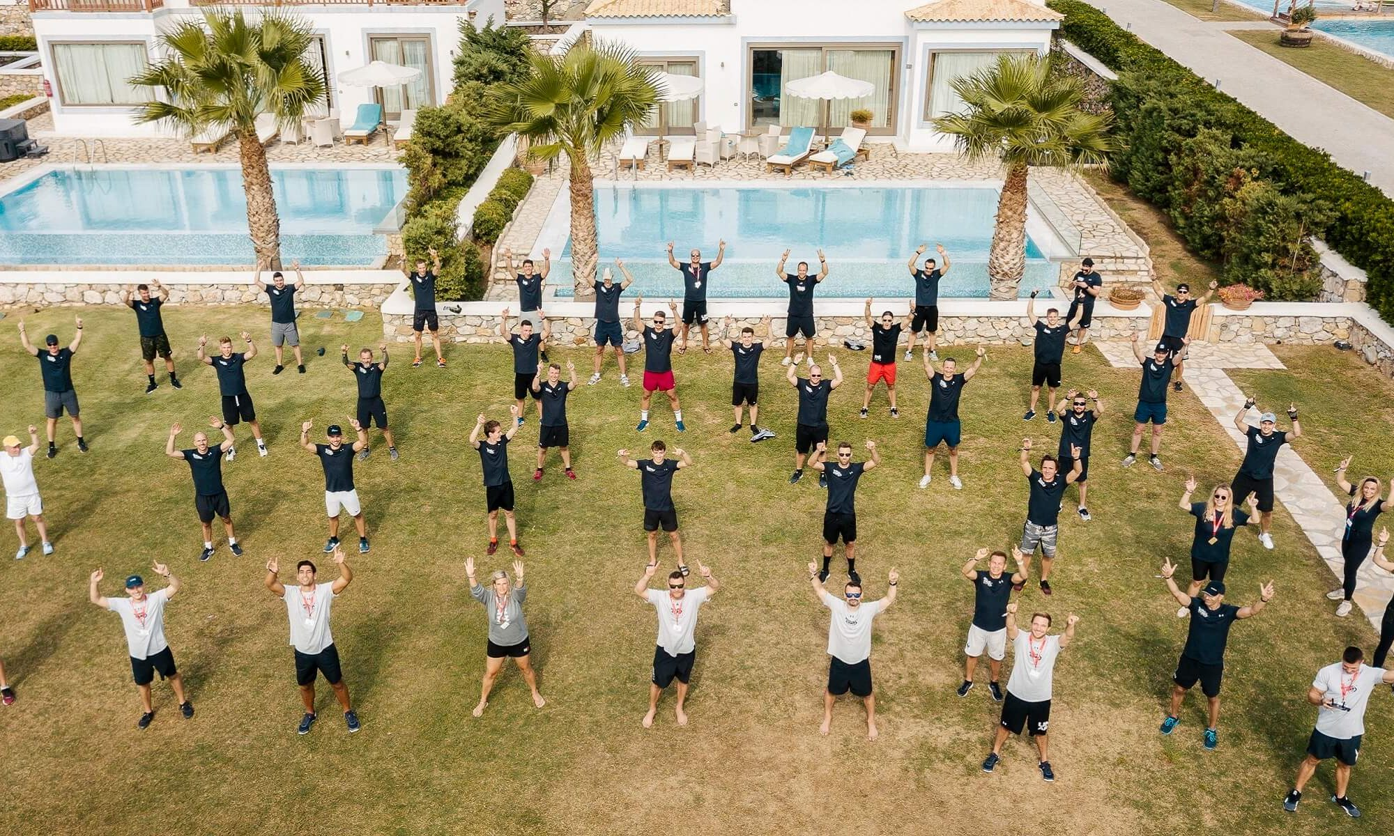 Men's Health Camp - Gruppenfoto