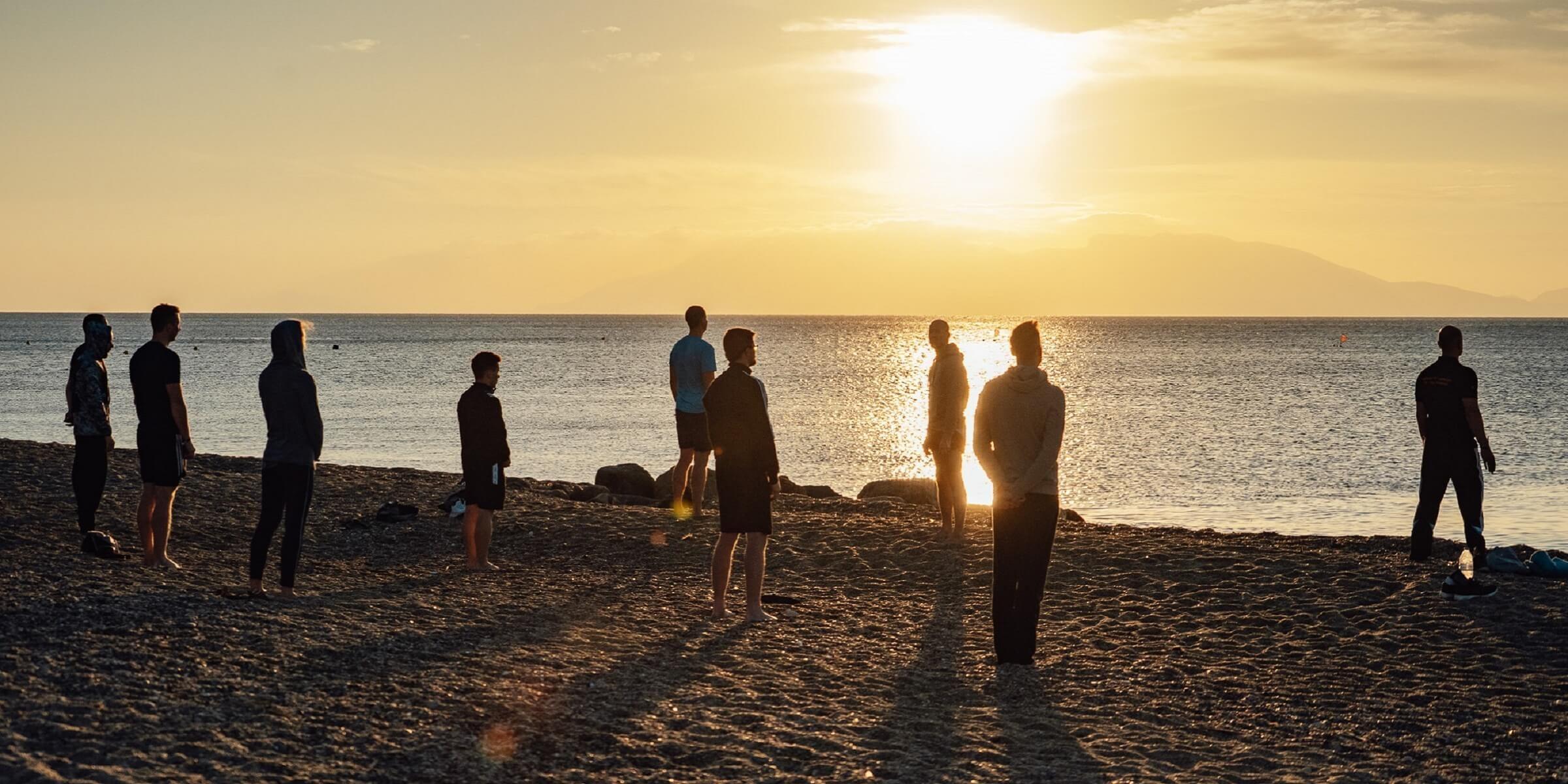 Men's Health Camp - Morning Yoga