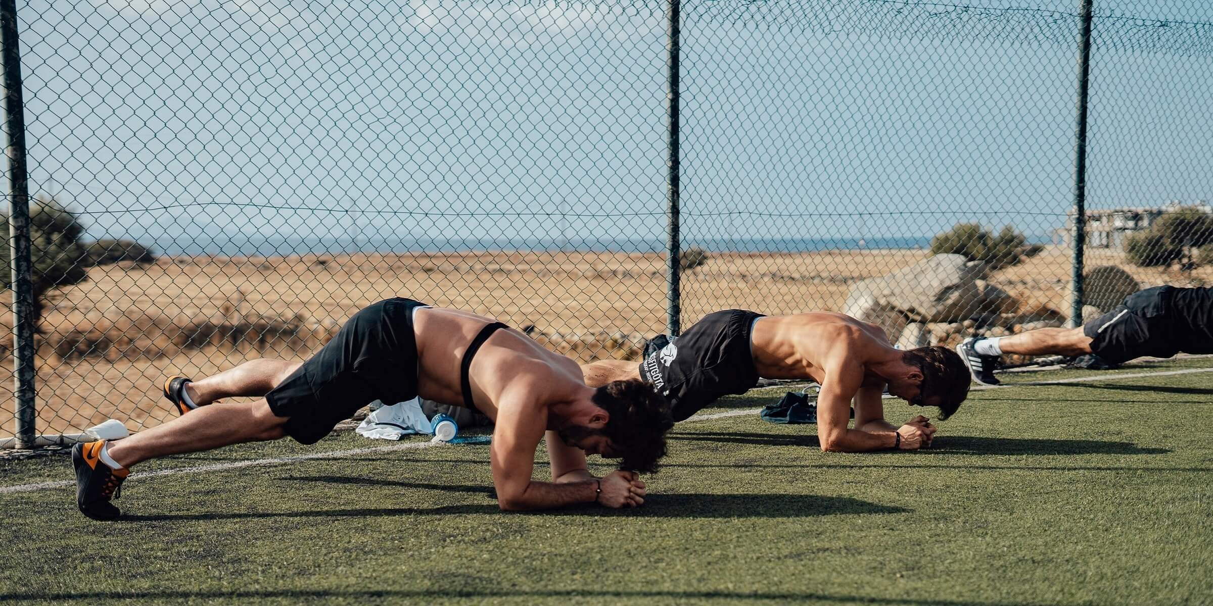Men's Health Camp - Planks