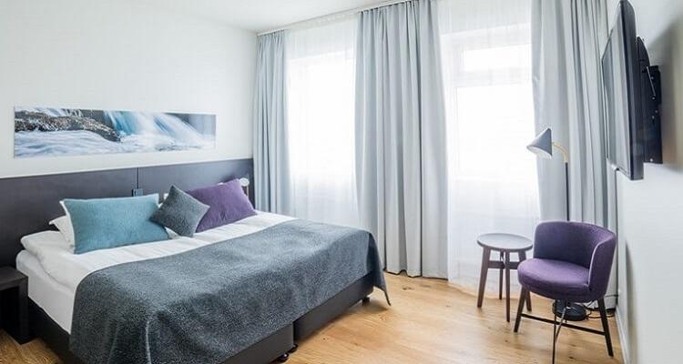 Island - Hotel Zimmer