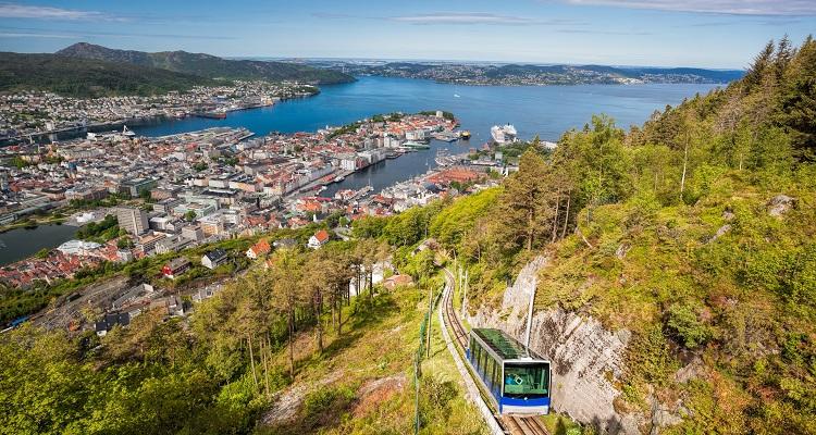 Norwegen, Bergen - Wanderung