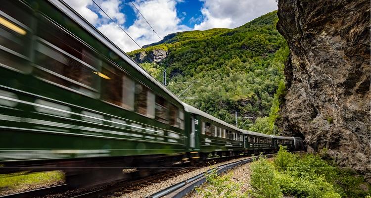 Norwegen, Bergen - Inselhüpfen; Flambahn