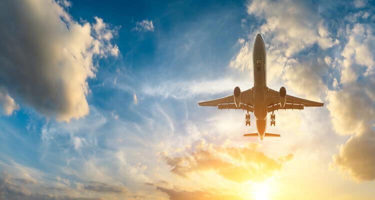 Singlereise nach Gran Canaria - Flugzeug startet